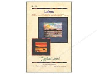 Outdoors Books & Patterns: Quilted Lizard Accidental Landscapes Lakes Pattern