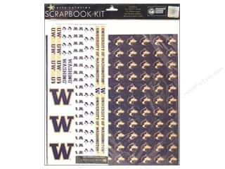 Dads & Grads Stickers: Sports Solution Scrapbook Kit Washington