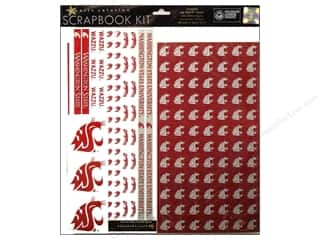 Brads Scrapbooking Kits / Page Kits: Sports Solution Scrapbook Kit Washington State