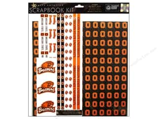 Sports Scrapbooking & Paper Crafts: Sports Solution Scrapbook Kit Oregon State