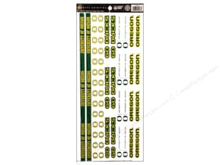 "Sports: Sports Solution Sticker Strip 12"" Oregon"