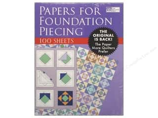 Clearance Blumenthal Favorite Findings: That Patchwork Place Papers for Foundation Piecng