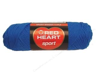 Red Heart Sport Yarn #846 Skipper Blue 2.5 oz.
