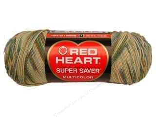 Red Heart Super Saver Yarn #0305 Aspen Print 5 oz.