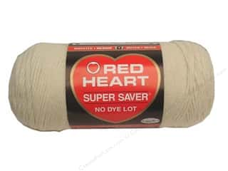 Yarn & Needlework Red Heart Super Saver Yarn: Red Heart Super Saver Yarn #0313 Aran 7 oz.