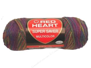 Red Heart Super Saver Yarn #0315 Artist Print 5 oz.