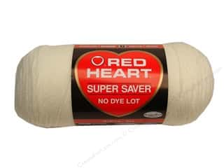 Red Heart Super Saver Yarn #0316 Soft White 7 oz.