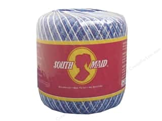 South Maid Crochet Cotton Thread Size 10 Shaded Blues