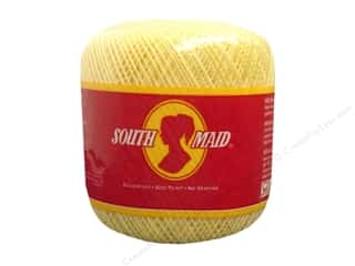 South Maid Crochet Cotton Thread Size 10 Soft Yellow