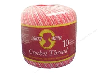South Maid Crochet Cotton Thread Size 10 Shaded Pinks