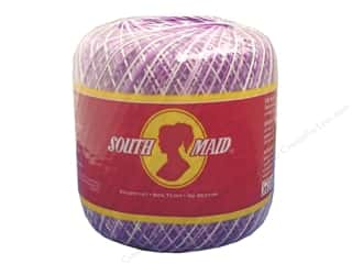 South Maid Crochet Cotton Thread Size 10 Shaded Purples