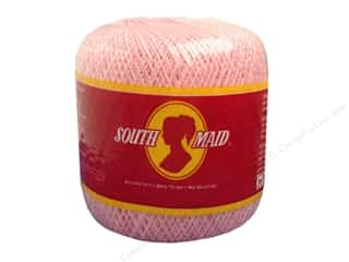 South Maid Crochet Cotton Thread Size 10 Orchid Pink
