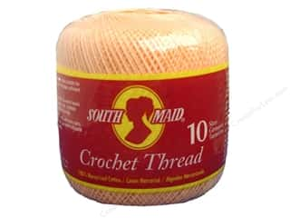 South Maid Crochet Cotton Thread Size 10 Light Peach