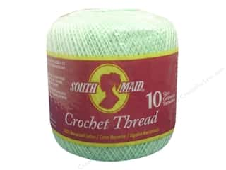 South Maid Crochet Cotton Thread Size 10 Mint Green