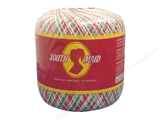 South Maid Crochet Cotton Thread Size 10 Shaded Christmas