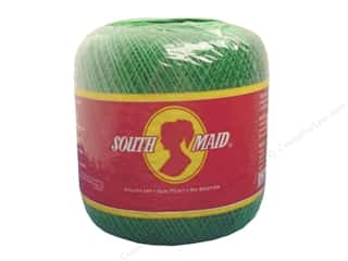 South Maid Crochet Cotton Thread Size 10 Myrtle Green