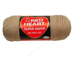 Clearance TLC Essentials Yarn: Red Heart Super Saver Yarn Linen 7 oz.