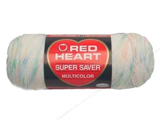 Red Heart Super Saver Yarn #0345 Baby Print 5 oz.