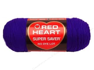 Multi Colored Yarn: Red Heart Super Saver Yarn Amethyst 5 oz.