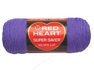 Yarn & Needlework Red Heart Super Saver Yarn: Red Heart Super Saver Yarn #0358 Lavender 7 oz.