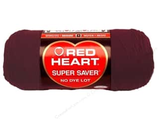 Red Heart Super Saver Yarn #0378 Claret 7 oz.