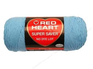 Red Heart Super Saver Yarn Light Blue 7 oz.