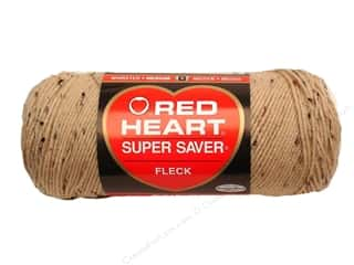 Yarn & Needlework Red Heart Super Saver Yarn: Red Heart Super Saver Yarn #4334 Buff Fleck 5 oz.