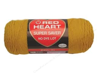 Yarn & Needlework Red Heart Super Saver Yarn: Red Heart Super Saver Yarn #0321 Gold 7 oz.