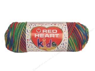 Light Worsted yarn: Red Heart Kids Yarn Crayon