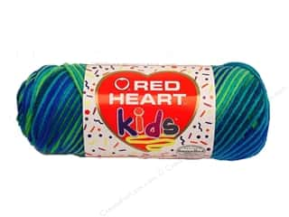 Light Worsted yarn: Red Heart Kids Yarn Beach