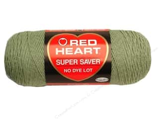 Red Heart Super Saver Yarn #661 Frosty Green 7 oz.