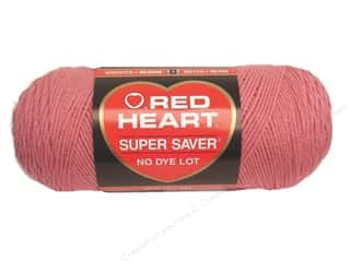 Clearance Red Heart Light & Lofty Yarn: Red Heart Super Saver Yarn #0774 Light Raspberry 364 yd.