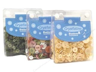 Clearance Blumenthal Favorite Findings: Dara Crystaline Button Assortments