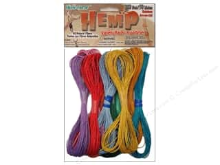 Summer Camp Macrame: Pepperell Hemp Rainbow 10pc
