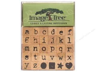 Valentines Day Gifts Stamps: EK Image Tree Rubber Stmp St Ltr Lwr Ant Typwrtr
