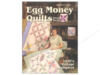 Egg Money Quilts: 1930's Vintage Samplers Book