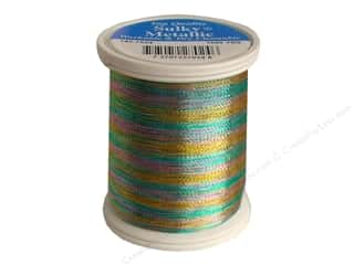 Lights Gold: Sulky Original Metallic Thread 1000 yd. #7024 Light Blue/Gold/Lavender