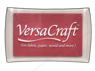 Shoulder Pads $4 - $5: Tsukineko VersaCraft Large Craft Ink Stamp Pad Cherry Pink