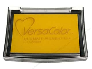 Tsukineko New: Tsukineko VersaColor Large Pigment Ink Stamp Pad Canary