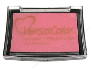New $3 - $5: Tsukineko VersaColor Large Pigment Ink Stamp Pad Petal Pink
