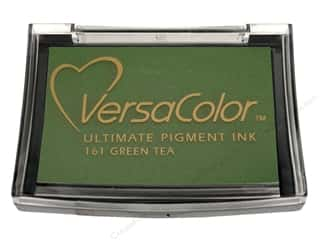 Tsukineko VersaColor Pigment Stamp Pad Green Tea
