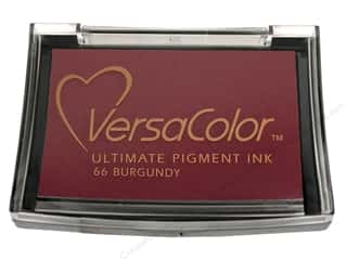 Tsukineko VersaColor Pigment Stamp Pad Burgundy