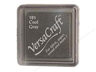 Stamping Ink Pads Weekly Specials: Tsukineko VersaCraft Small Ink Pad Cool Grey (5 pieces)