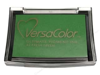 Inks $2 - $3: Tsukineko VersaColor Large Pigment Ink Stamp Pad Fresh Green