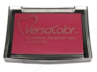 New $3 - $5: Tsukineko VersaColor Large Pigment Ink Stamp Pad Rose Red