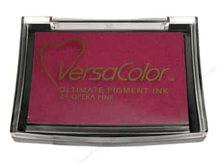 New $3 - $5: Tsukineko VersaColor Large Pigment Ink Stamp Pad Opera Pink