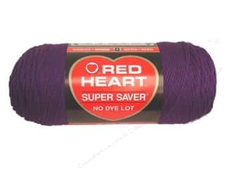 Red Heart Super Saver Yarn #0776 Dark Orchid 7 oz.