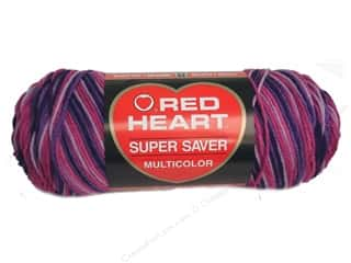 Red Heart Super Saver Yarn Plum Pudding 5 oz.