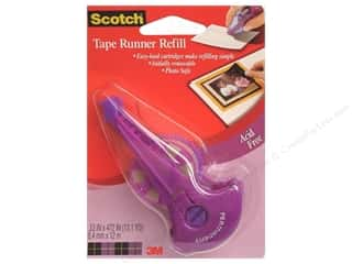Scotch Glues/Adhesives: Scotch Tape Runner Double Sided Refill Acid-Free 472""