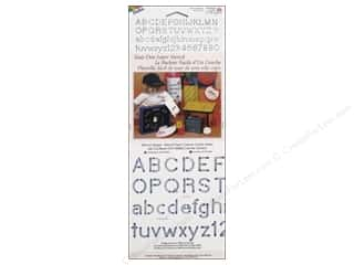Borders Craft & Hobbies: Delta Stencil Magic Accents 5 1/2 x 13 in. Alphabet Block